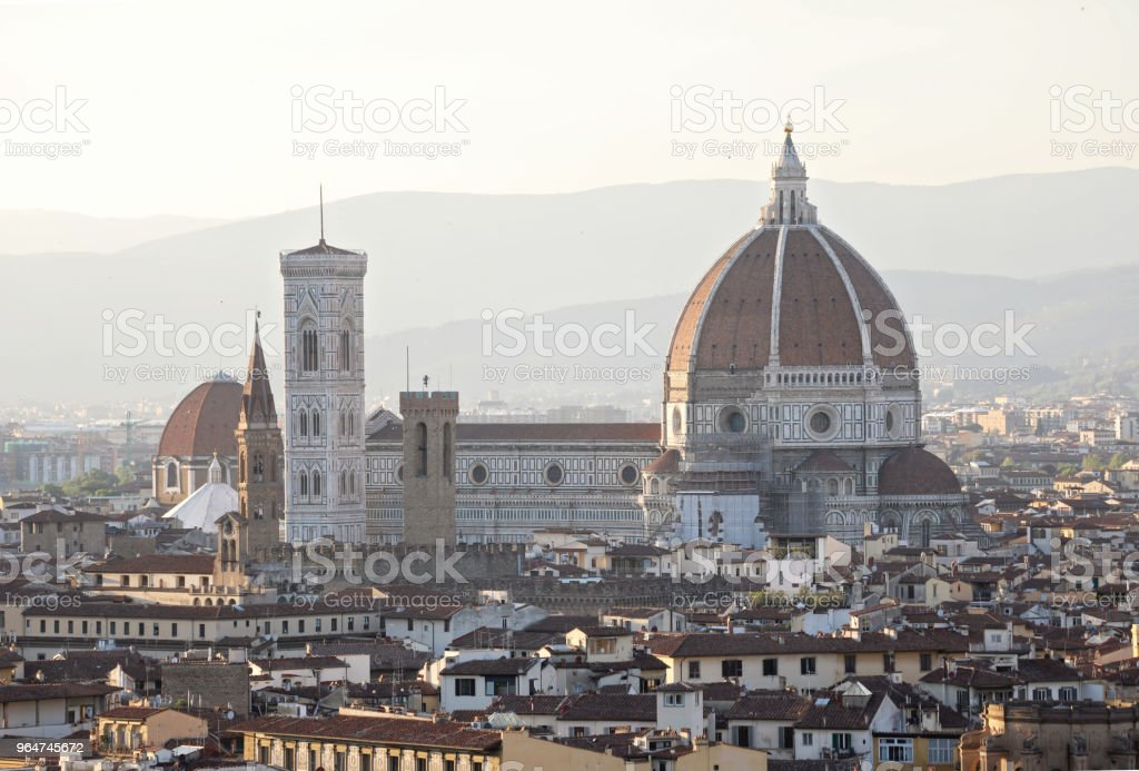 Florence Italy Cathedral cityscape royalty-free stock photo