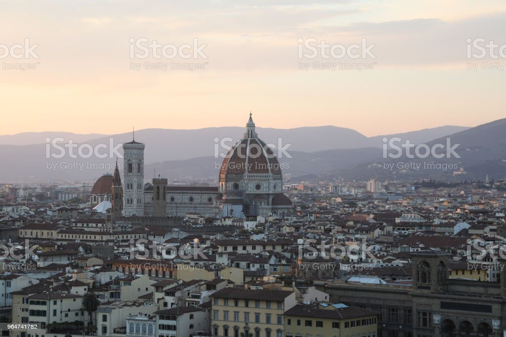 Florence Italy cityscape royalty-free stock photo