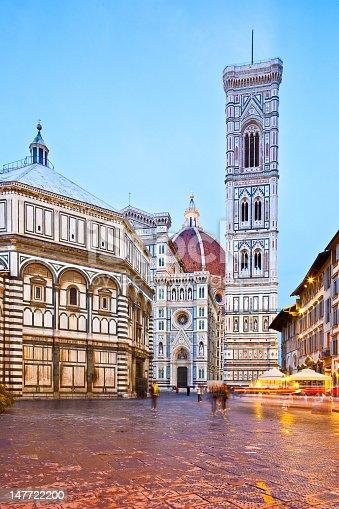 Florence, Duomo Santa Maria del Fiore and Campanile