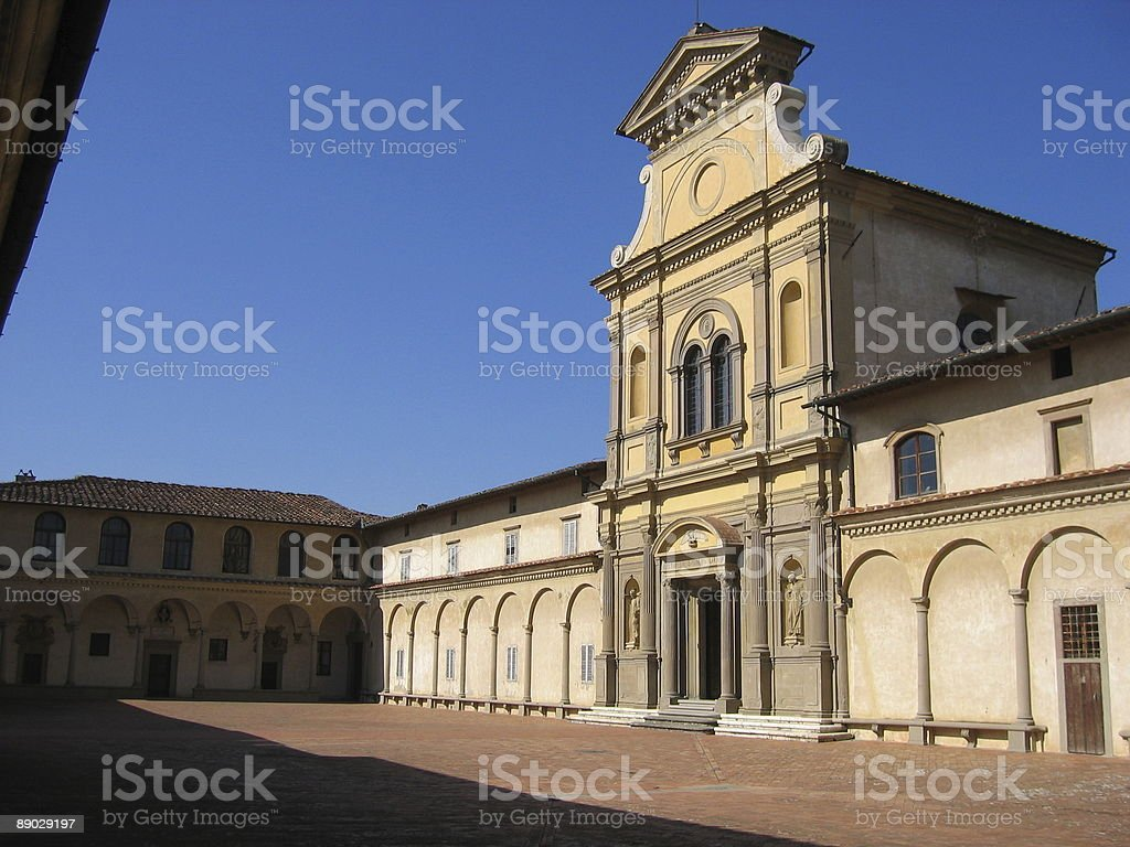 Florence Monastery royalty-free stock photo