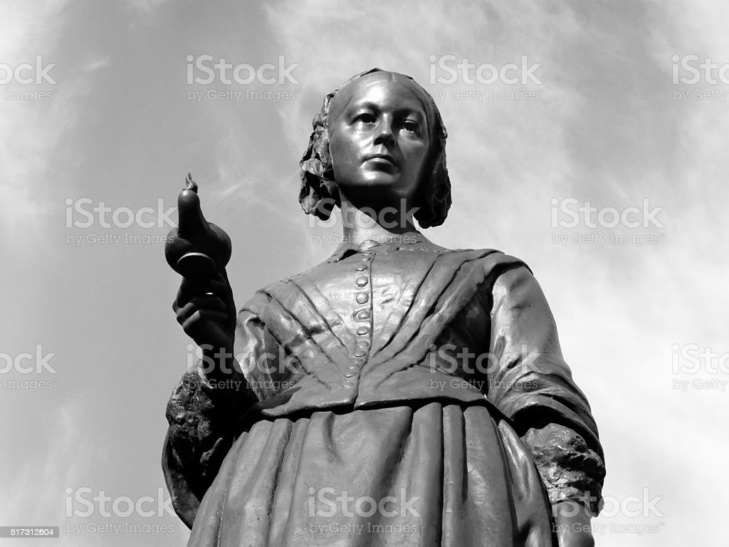 Florence Nightingale stock photo