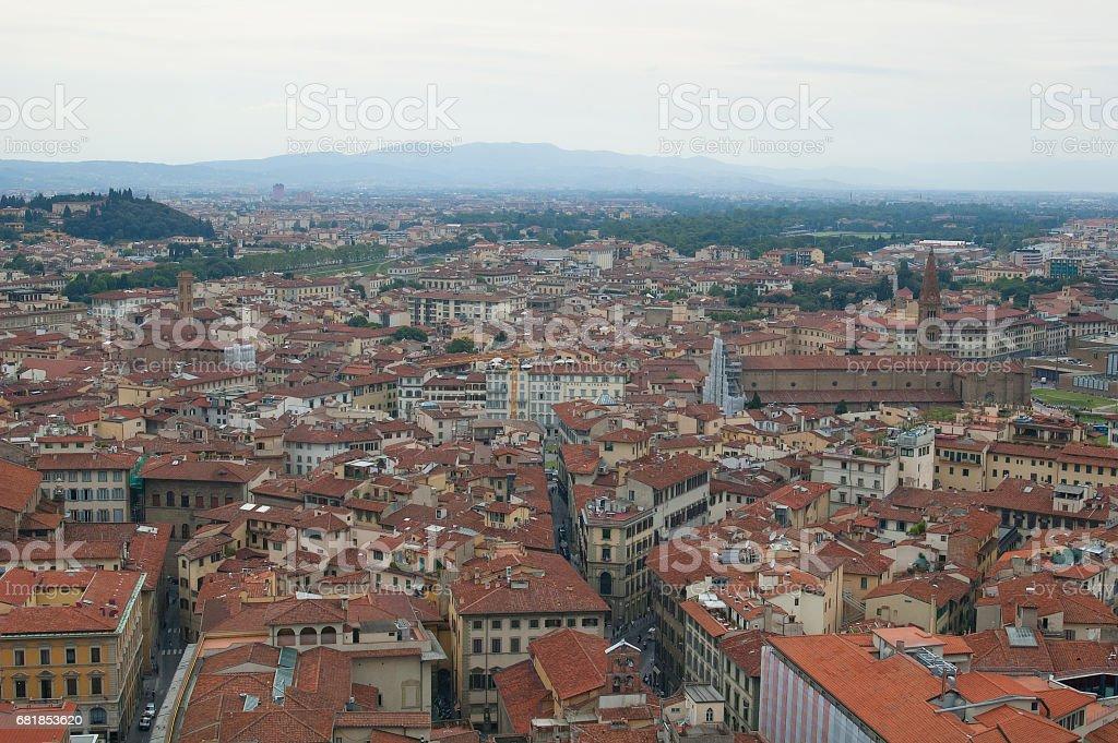 Florence panorama стоковое фото