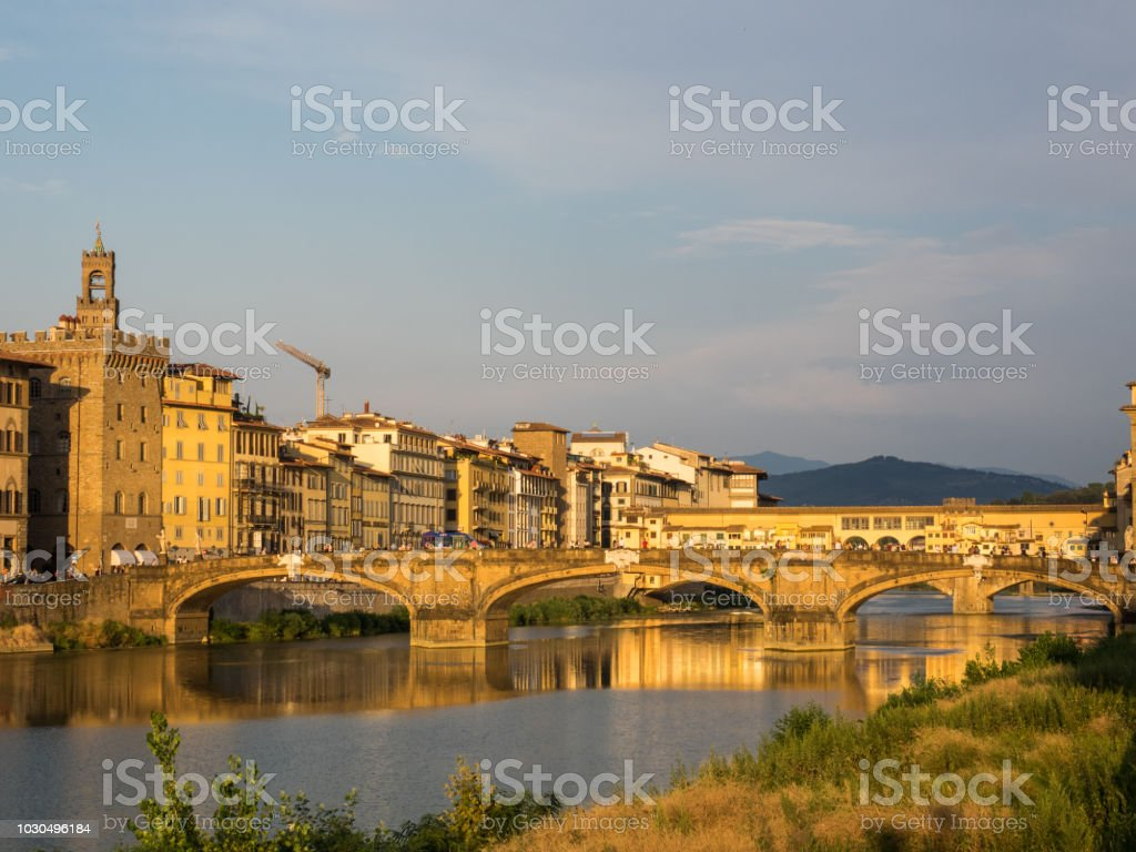 Florence. Partial view stock photo
