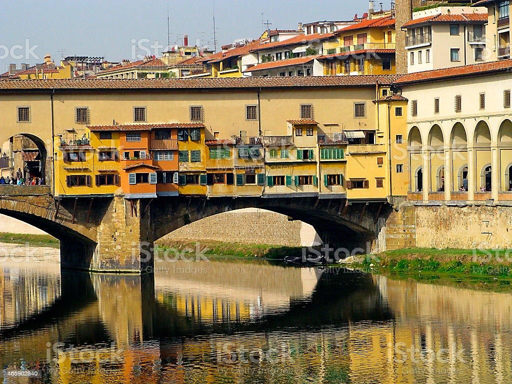 Florence. Ponte Vecchio. stock photo