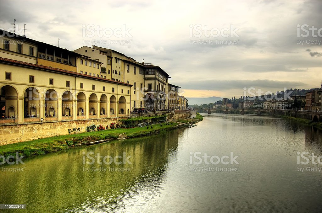 Florence reflections royalty-free stock photo