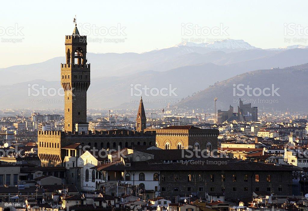 skyline von Florenz Lizenzfreies stock-foto