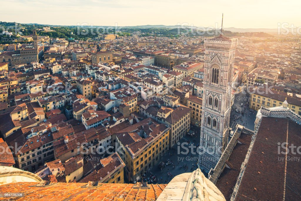 Florence Skyline View from Duomo royalty-free stock photo