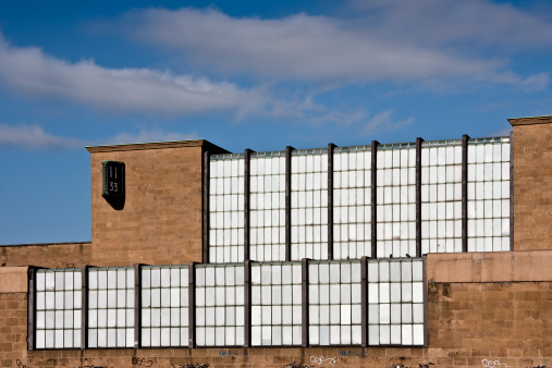 Florence Smn Train Station Facade Glass And Stone Stock Photo - Download Image Now