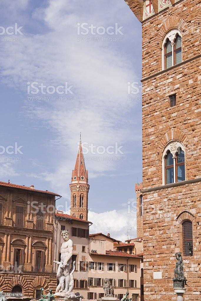 Florence square royalty-free stock photo