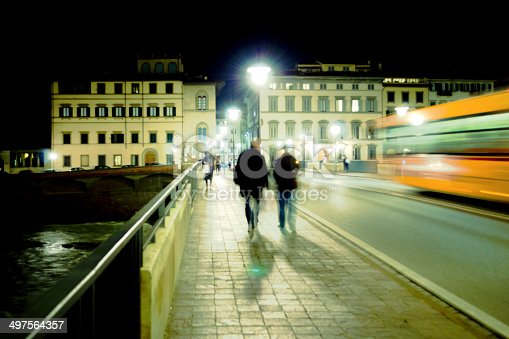 1060957508 istock photo Florence Street At Night 497564357