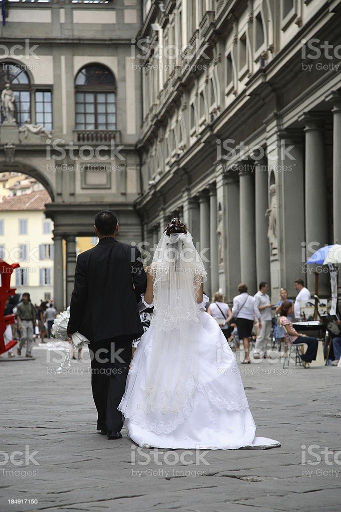 Florence: Summer Wedding stock photo