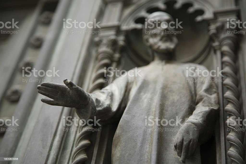 Florence: Talk to the Hand royalty-free stock photo