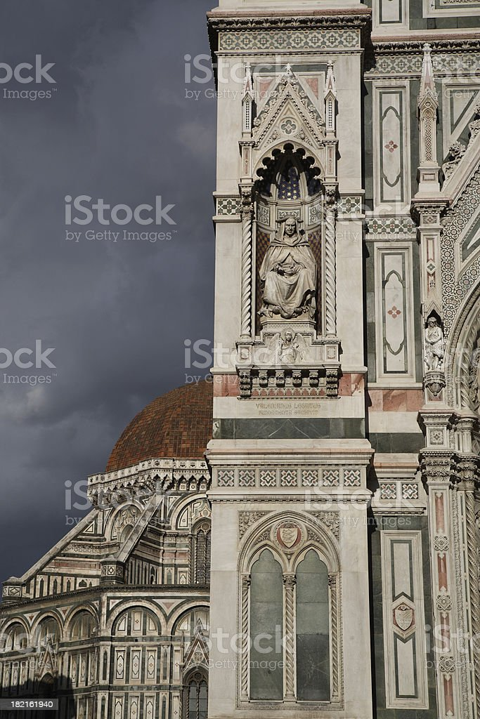 Florence: The Duomo royalty-free stock photo