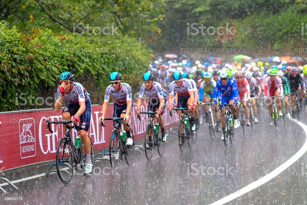 Florence - UCI Road World Championship group stock photo