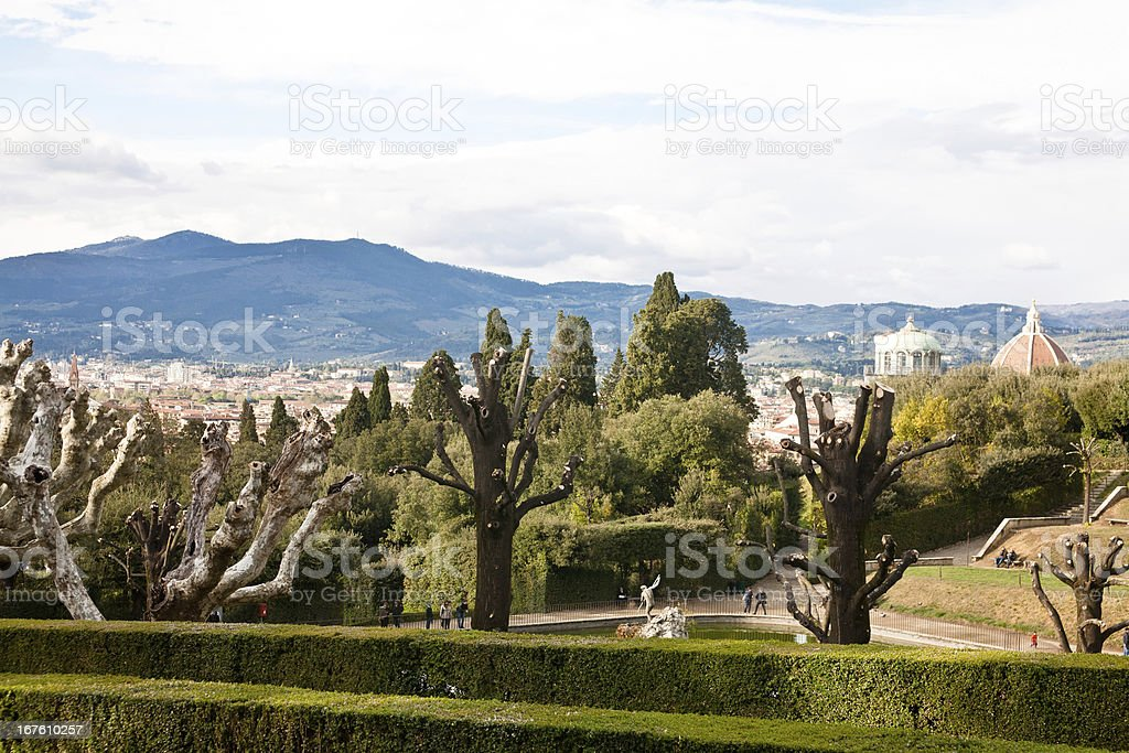 Florence view royalty-free stock photo
