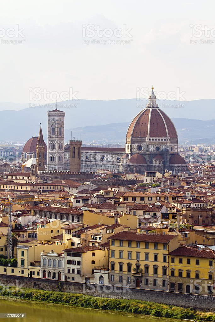 Florence's Duomo stock photo