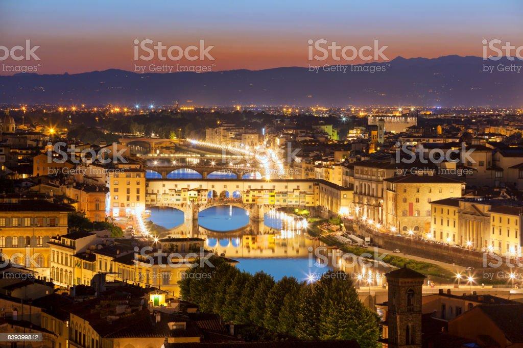 Florencja stock photo