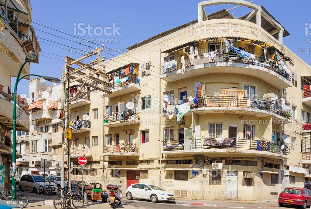 Florentin neighbourhood, Tel Aviv royalty-free stock photo