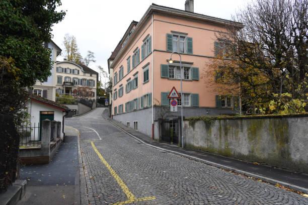 Florhofstrasse Zurich stock photo