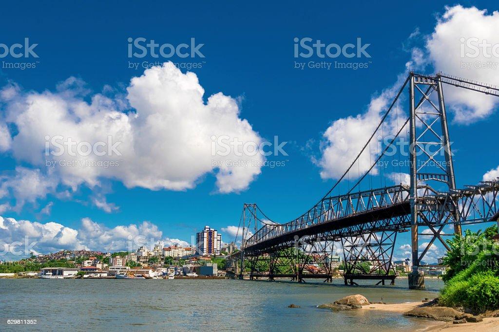 Florianopolis, capital of Santa Catarina State, Brazil stock photo