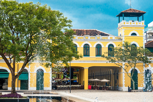 Florianopolis Municipal Market Stock Photo - Download Image Now