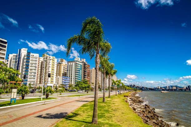 Florianopolis, New District stock photo