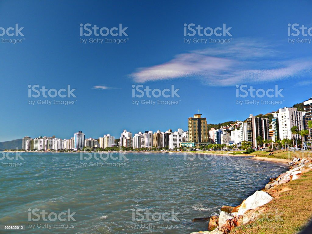 Florianópolis landscape - Royalty-free Beach Stock Photo