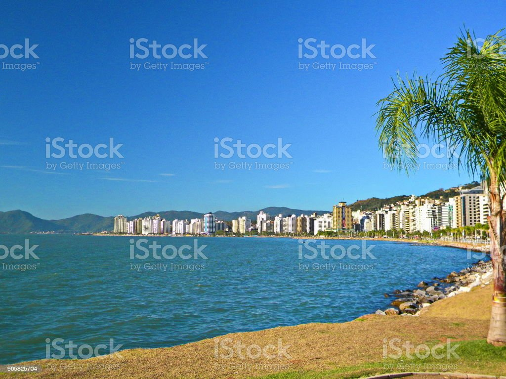 Florianópolis landscape - Royalty-free Beach Stock Photo