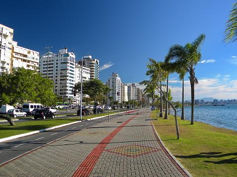 Florianópolis Landschap Stockfoto en meer beelden van Beschrijvende kleur
