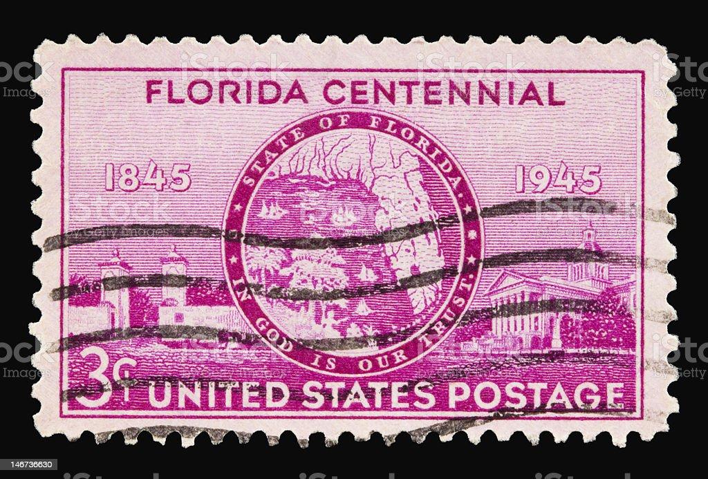 Florida 1945 stock photo
