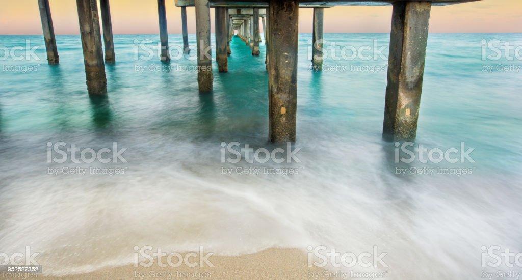 Florida Beach Everglades stock photo