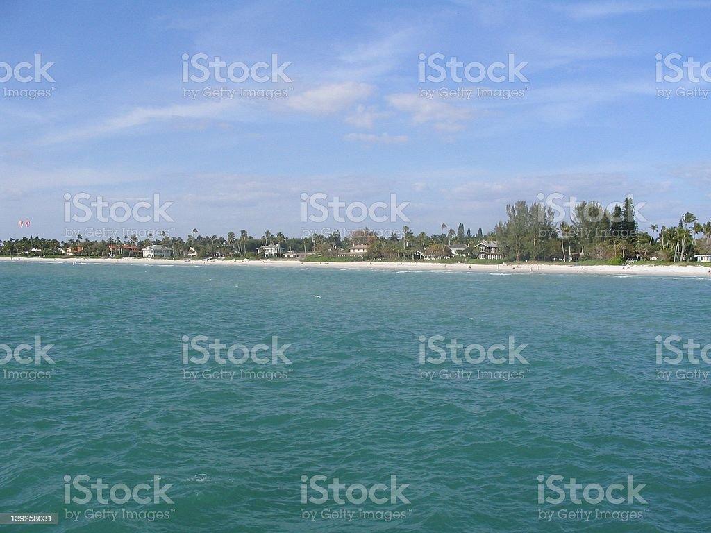 A Florida Beach stock photo