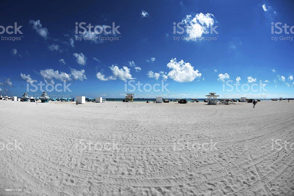 Florida Beach royalty-free stock photo