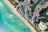 istock Florida Beach Resort Aerial 1299097228