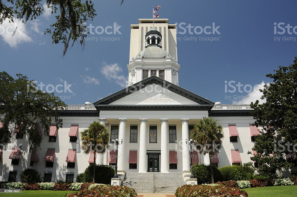 Florida Capitol Building stock photo