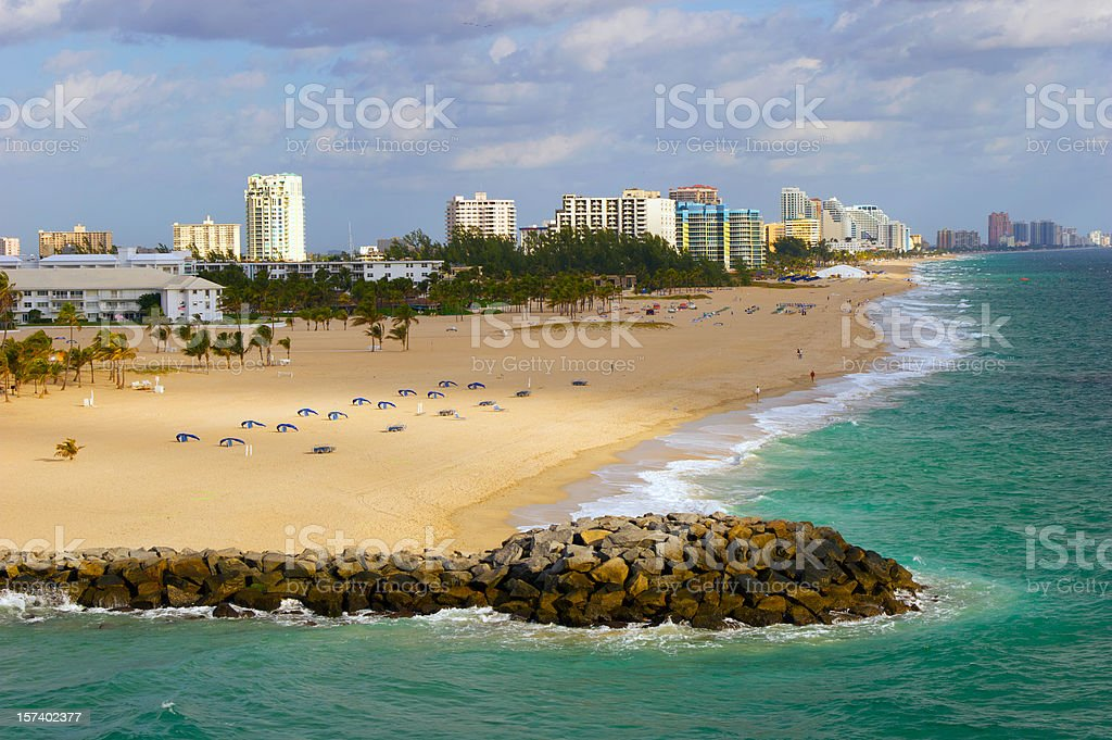 Florida Coast stock photo