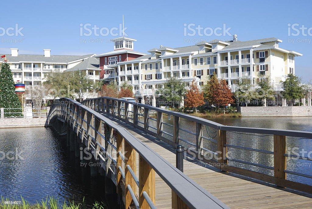 Florida Coastal Town royalty-free stock photo