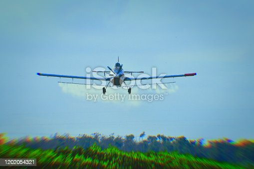 istock Florida crop dusting 1202054321