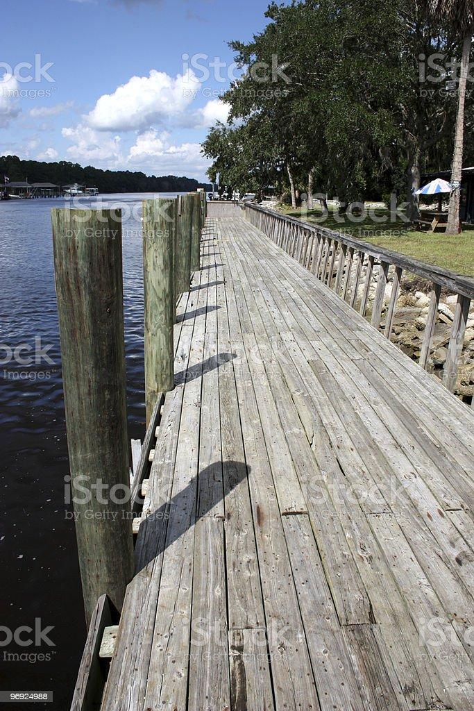 Florida Dock royalty-free stock photo