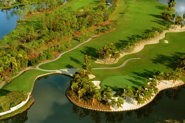 Florida golf aerial  naples florida stock pictures, royalty-free photos & images