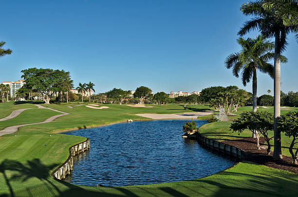 Florida Golf Club and Resort stock photo