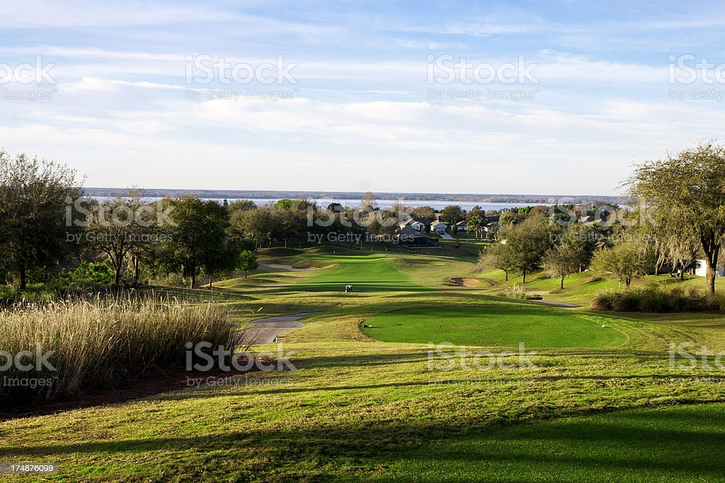 Florida Golf Course royalty-free stock photo