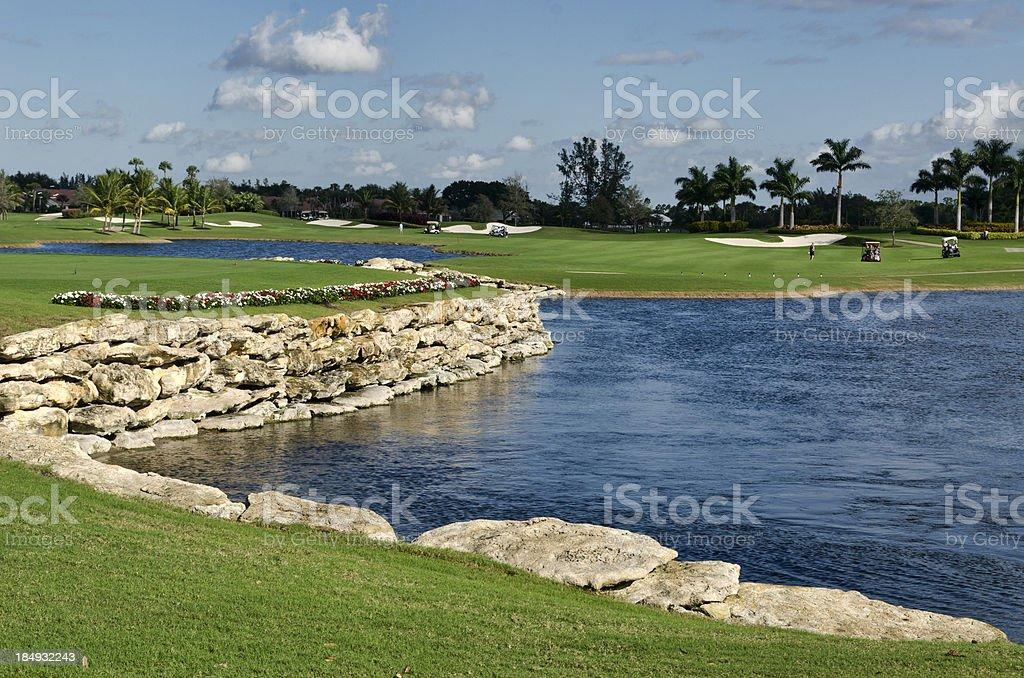 Florida Golf stock photo
