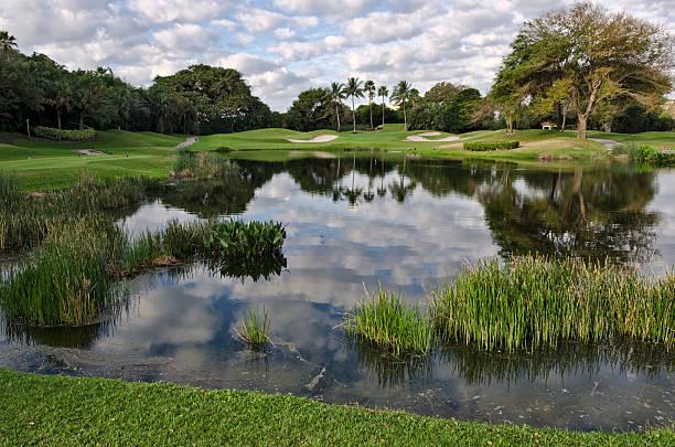 Florida Golf Resort stock photo