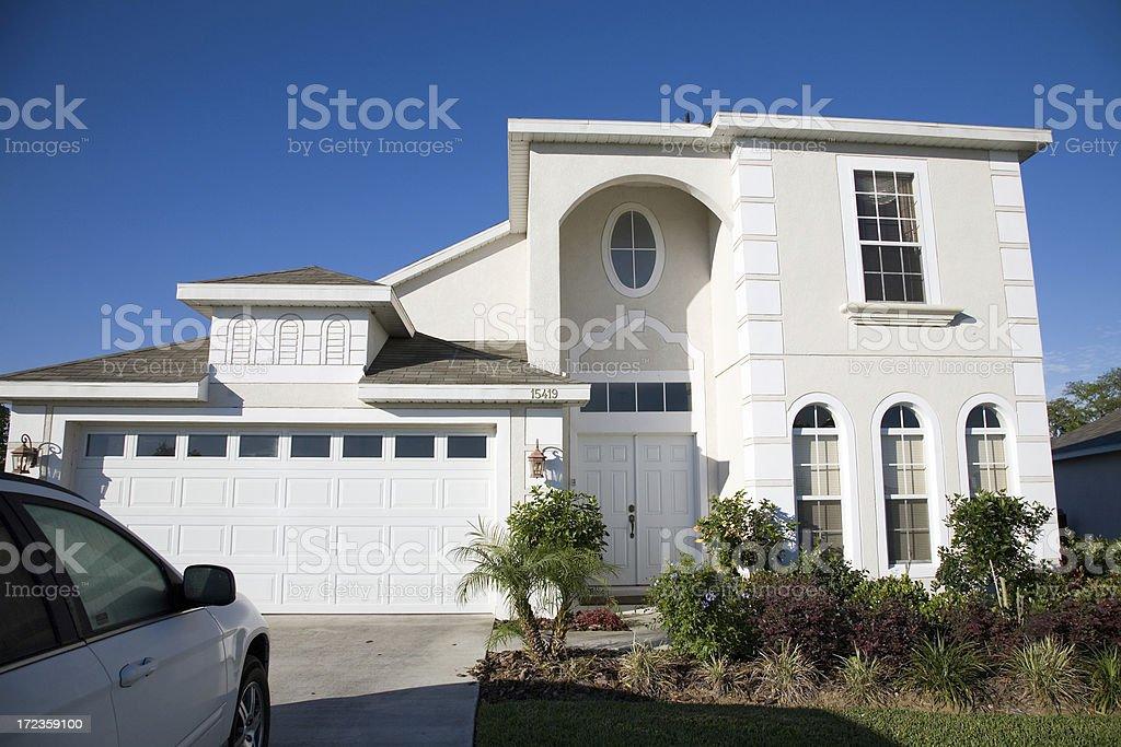 Florida Holiday Home royalty-free stock photo