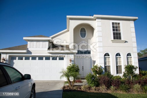 Florida Holiday Home Stock Photo & More Pictures of Architectural Feature