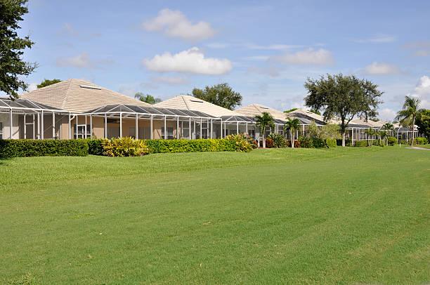 Florida homes stock photo