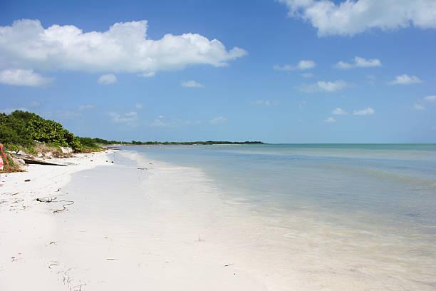 Florida Keys Beach stock photo