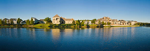 florida luxury lakeside living - orlando florida photos stock photos and pictures