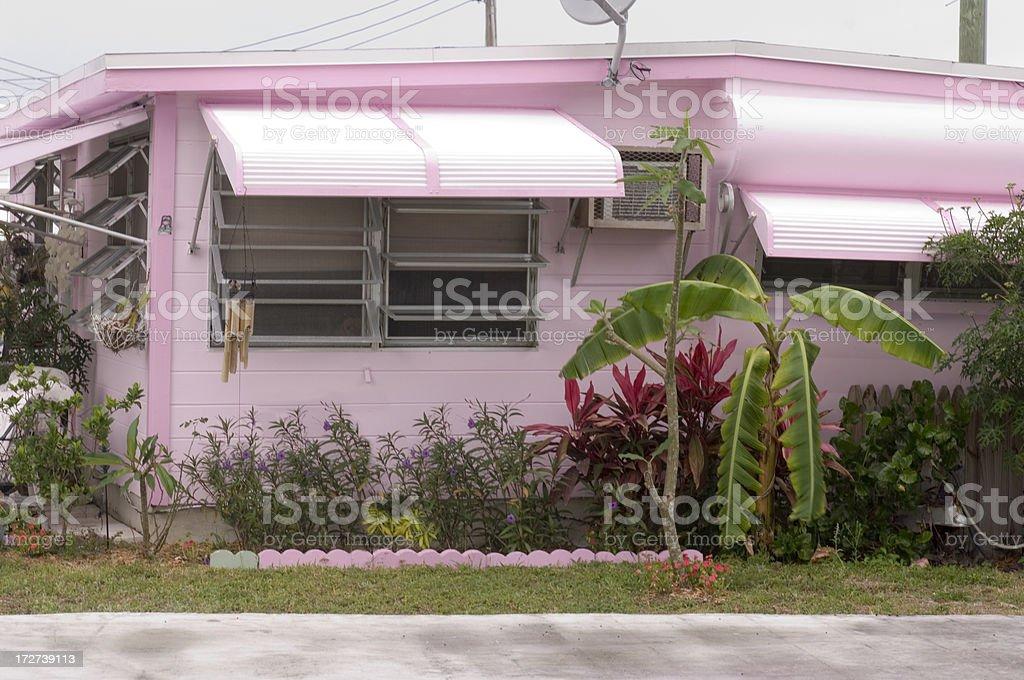 Florida Mobile Home stock photo